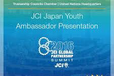 UN Global Partnership Summit; JCI Japan Youth Ambassador
